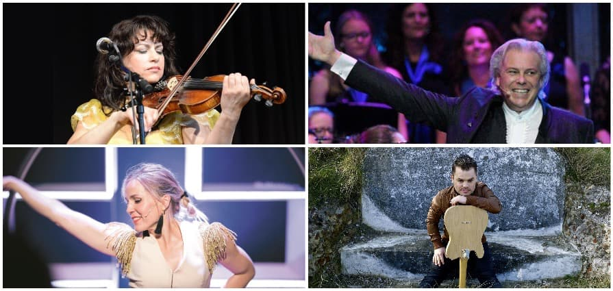 The New Symphonics work together with (inter)national artists such as