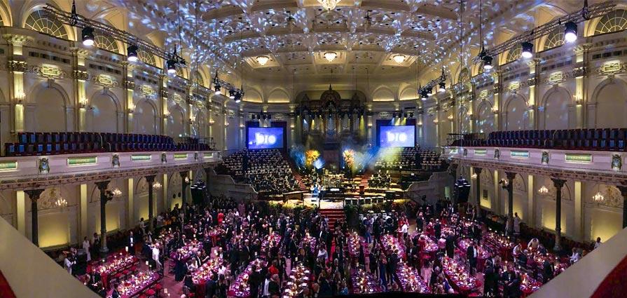 The New Symphonics op gala's en evenementen